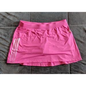 Adidas Pink Tennis Skort Size Large
